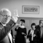 60. Geburtstag von Papa Begruessung der Gaeste