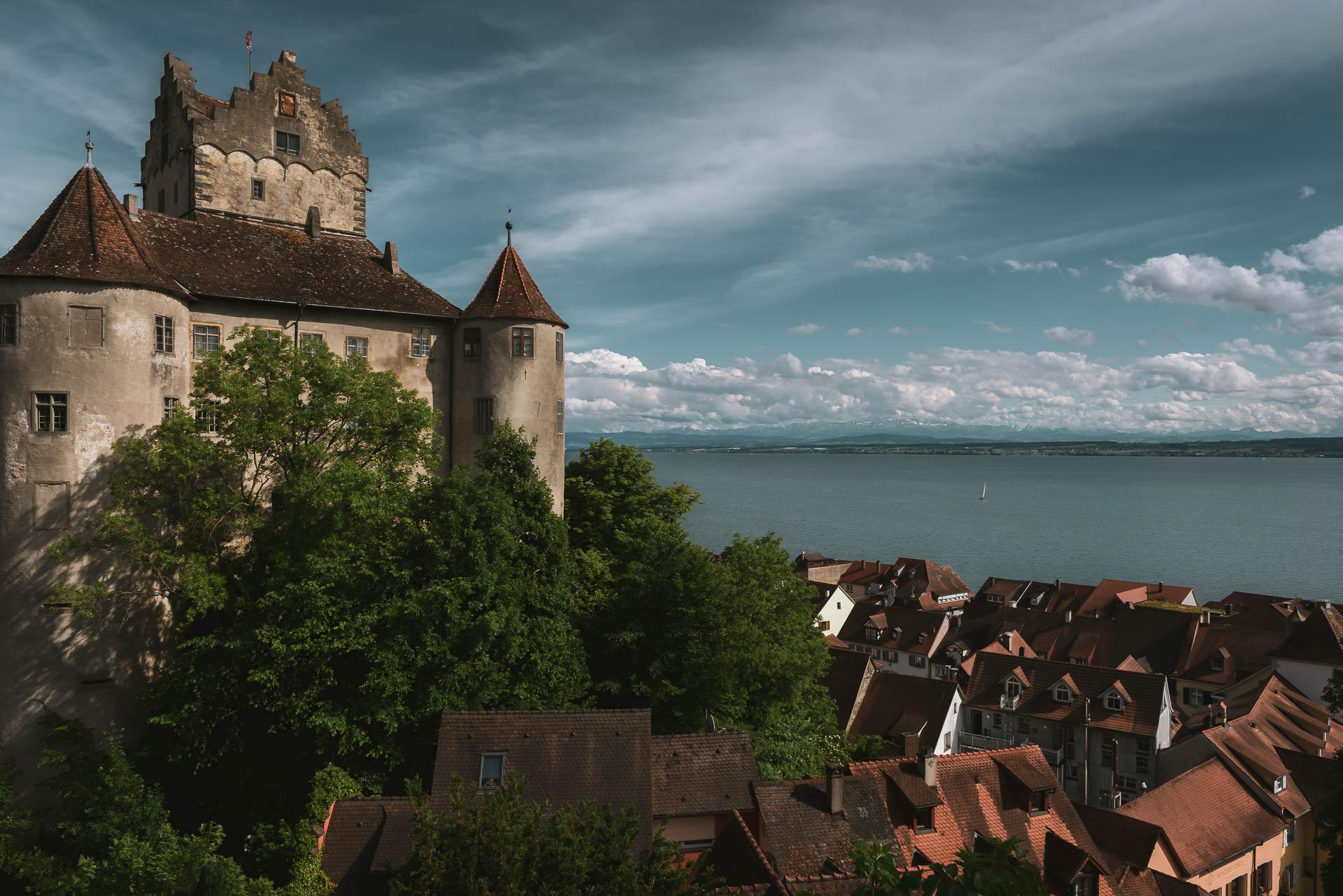 Die Burg in Meersburg